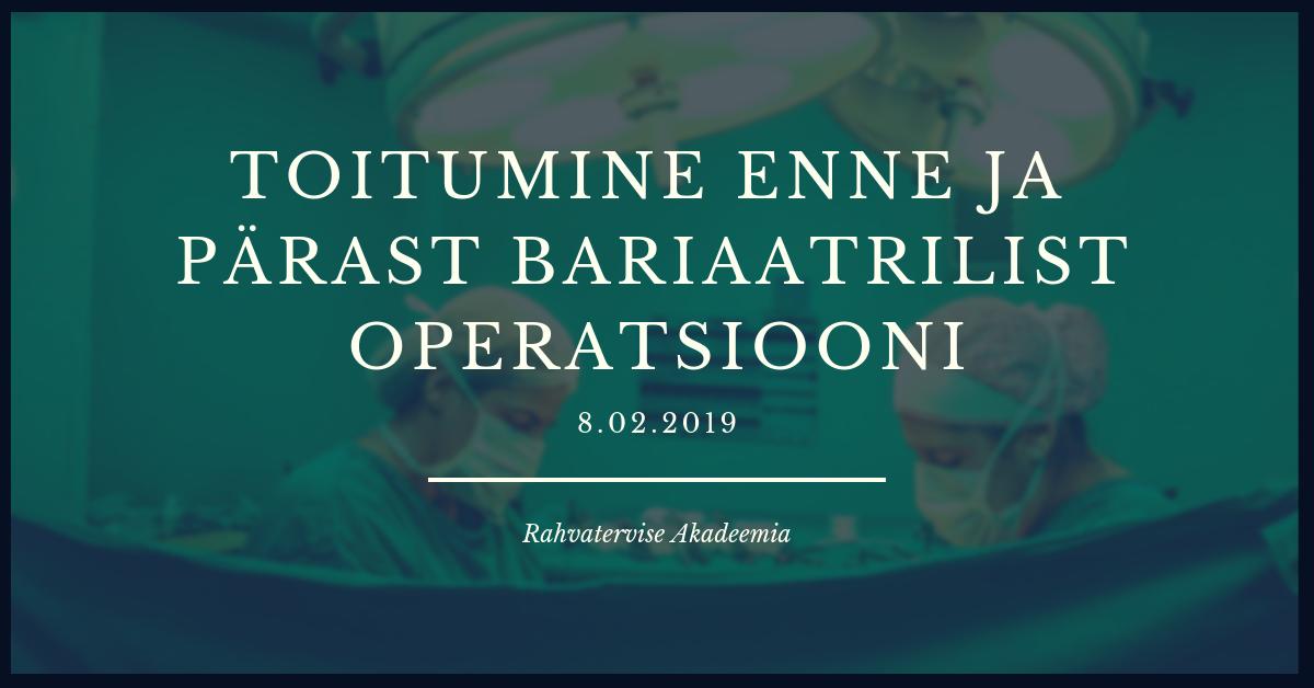 Bariaatriline operatsioon