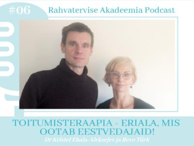 Kristel Ehala-Aleksejev, Revo Türk - toitumisteraapia