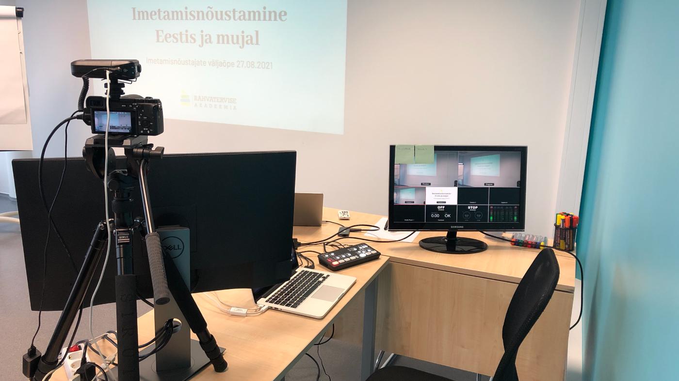 Koolitusruum videotehnikaga